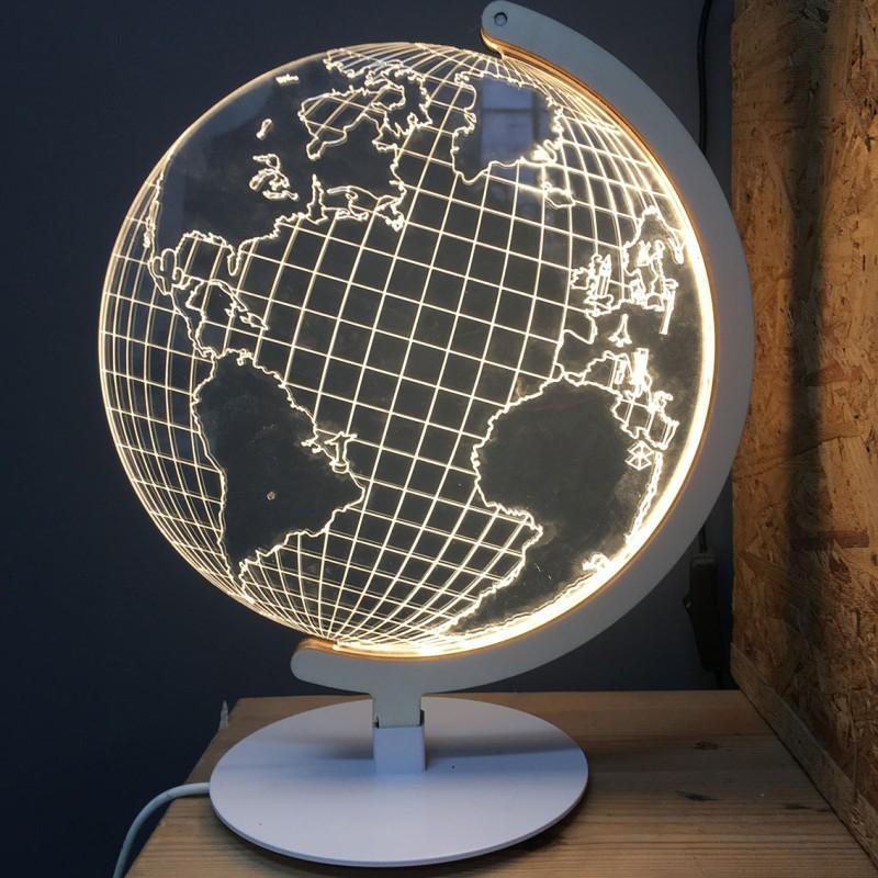 Ledljuslampa Globe