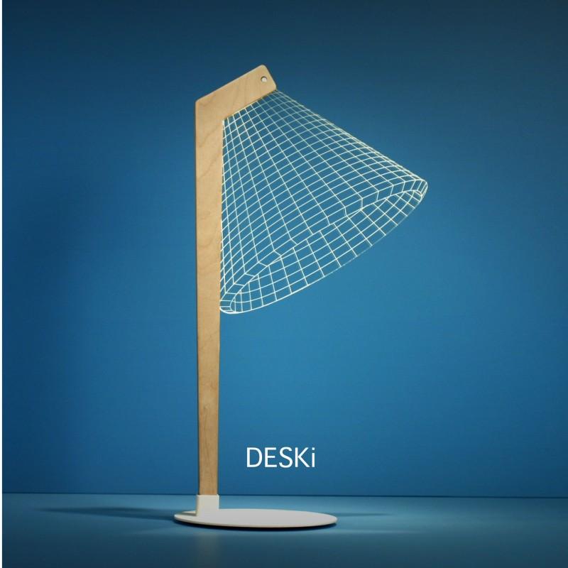 Ledljuslampa Deski