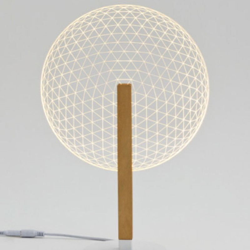 Ledljuslampa Bloom