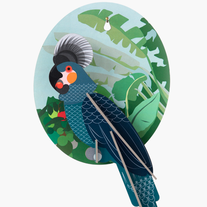 väggdekor papegoja