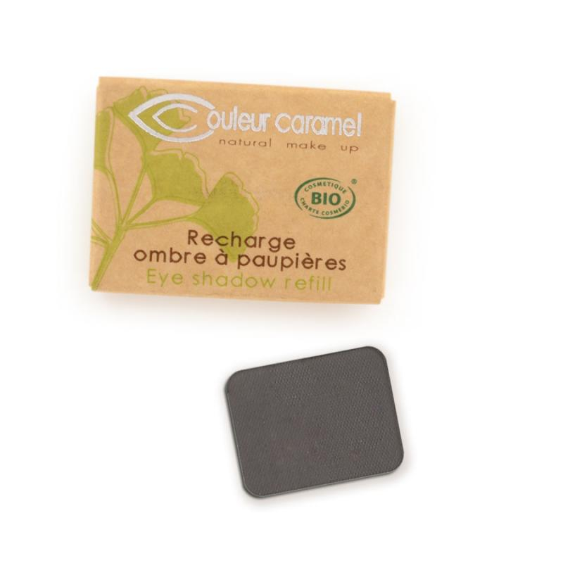 Couleur Caramel Refill Eye shadow n°074 Matt anthracite grey 4536