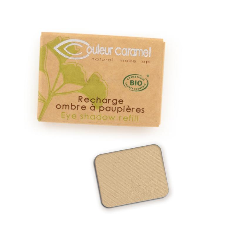 Couleur Caramel Refill Eye shadow n°008 Matt yellow beige 4536