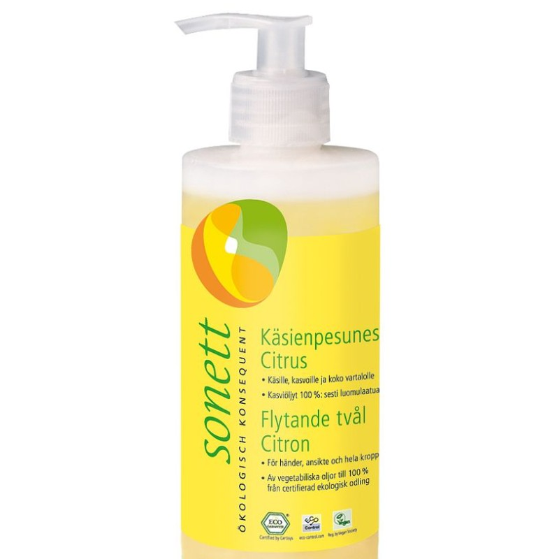 Tvål Citron 300ml  Sonett