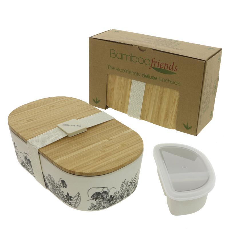 Blue Eyed Sun Bamboo Lunchbox Bamboo Lunchbox - Flowers 900ml