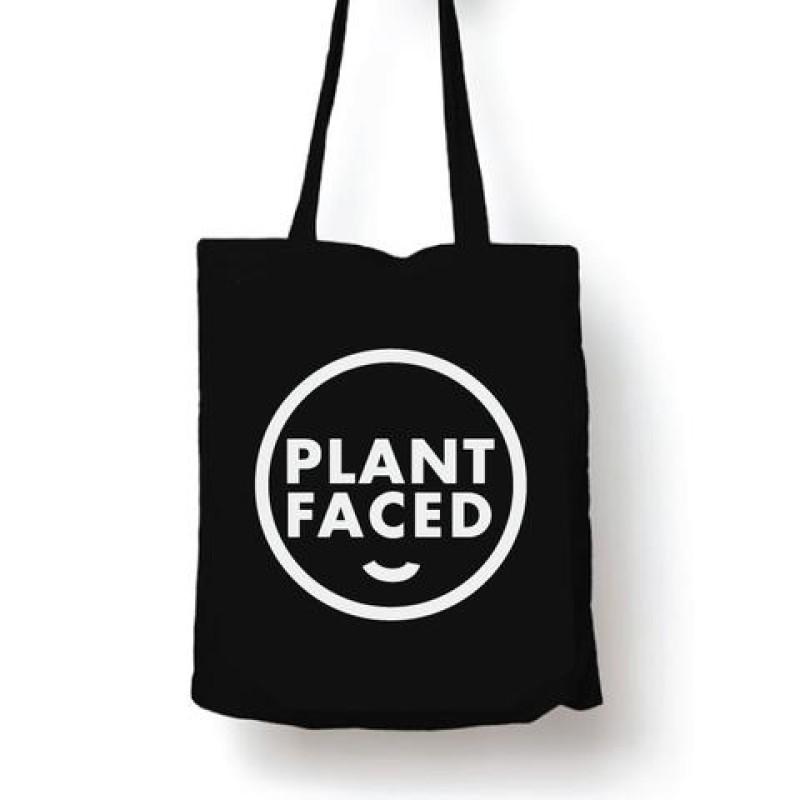 PLANT FACED TOTE - 100% ORGANIC COTTON TOTE BAG . SommarRea! Ord. pris 149kr
