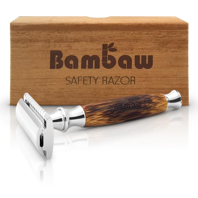 Rakhyvel (Safety razor)med bambuhandtag