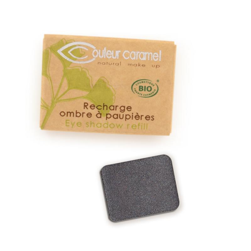 Couleur Caramel Refill Eye shadow n°049 Pearly anthracite grey 4536