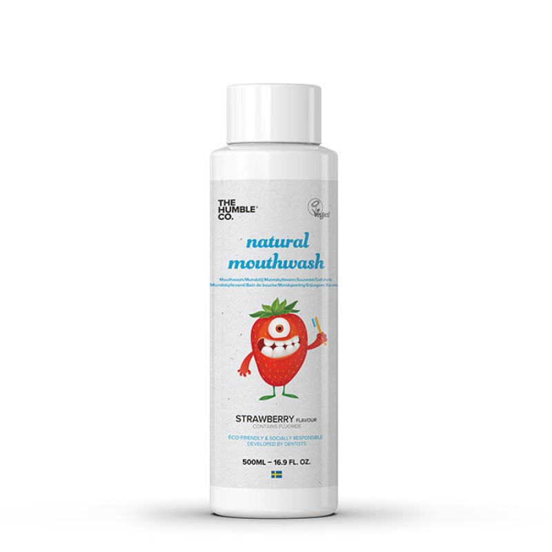 Humble Natural mouthwash kids strawberry
