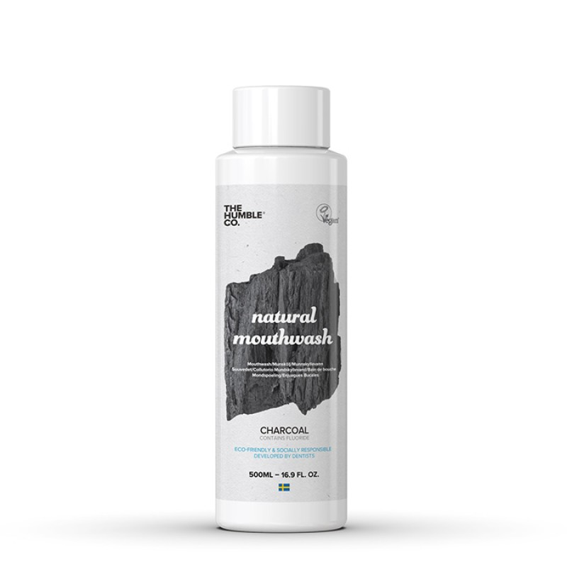 Humble Natural mouthwash charcoal