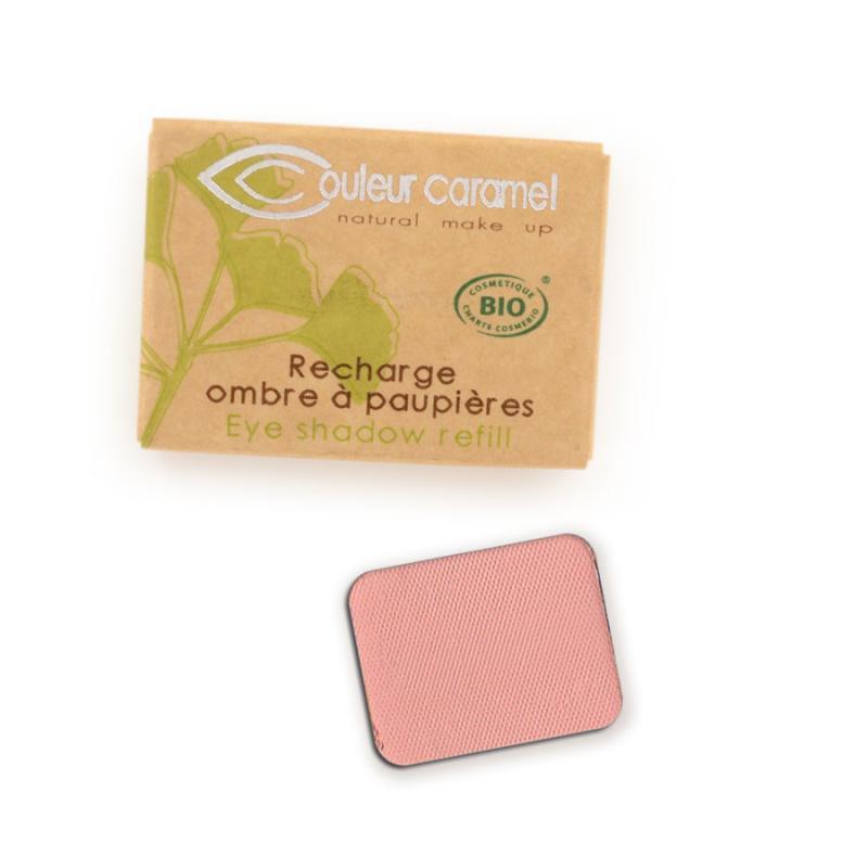 Couleur Caramel Refill Eye shadow n°123 Light mat rose 4536
