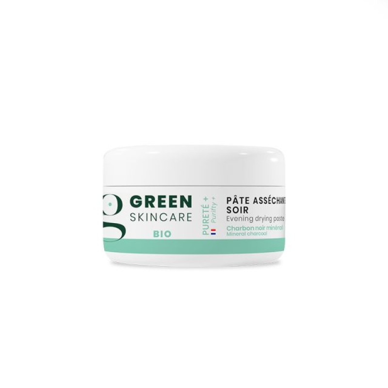 Green Skincare Purity+ Spots Control paste with activated charcoal 15 ml 4536