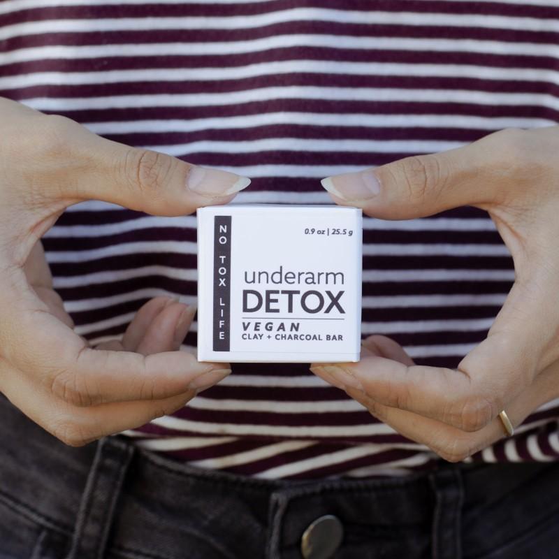 Underarm detox bar