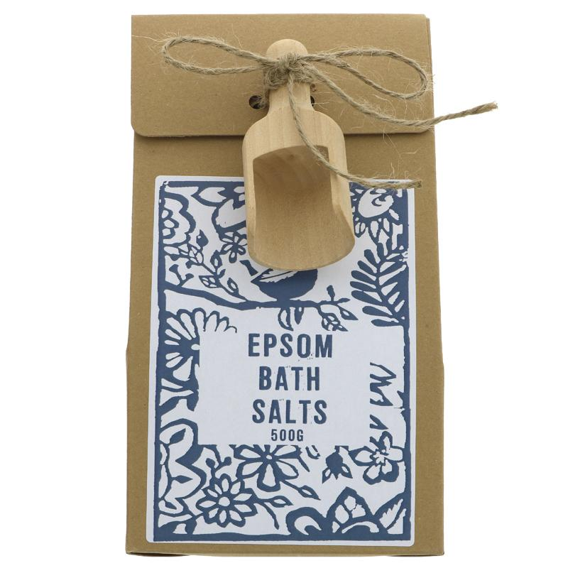 Agnes + Cat Bath Salts w/Scoop - Epsom