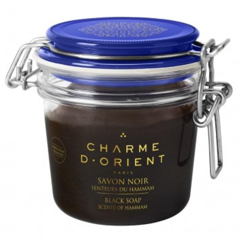 Charme d'Orient Black soap Scents of Hammam 200 g 4536