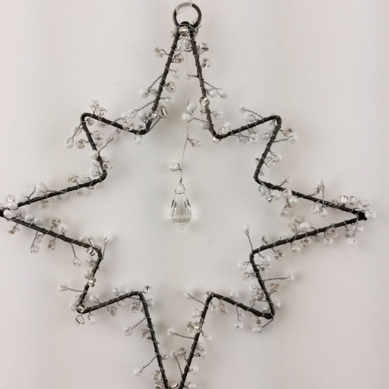 Crystal Bead Star