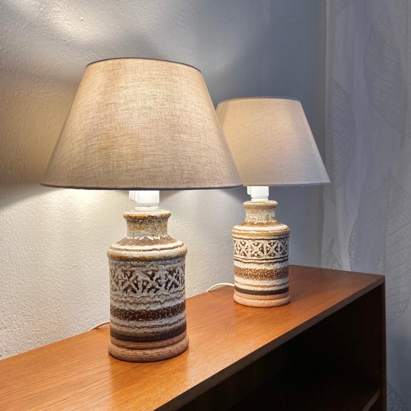 Par italienska bordslampor