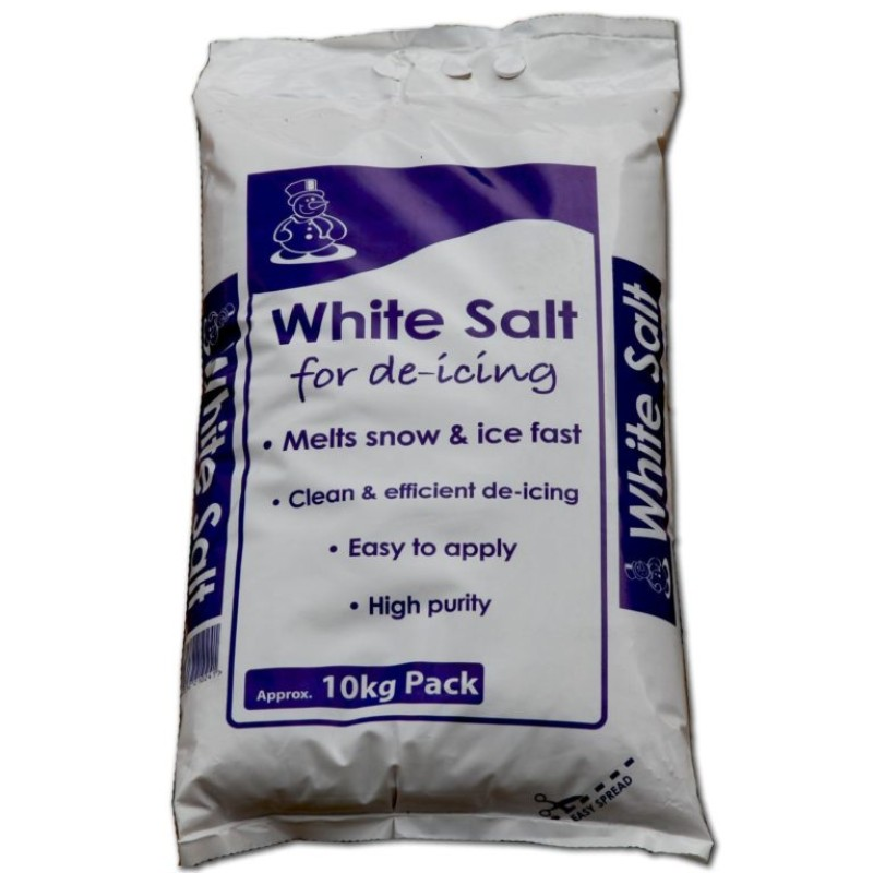 196. White de-icing Rock Salt with local Delivery