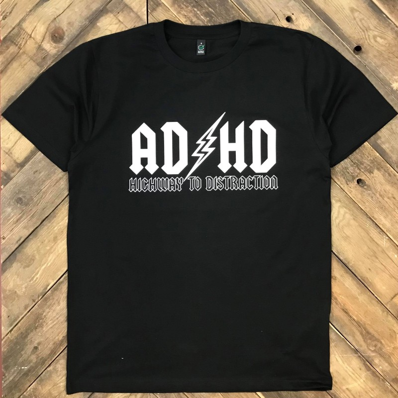 AD/HD Highway to distraction t-shirt