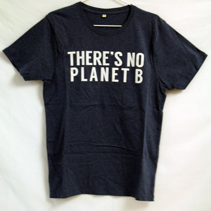 THERE'S NO PLANET B, Blå Unisex.