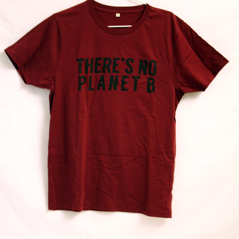 THERE'S NO PLANET B, Röd Unisex.