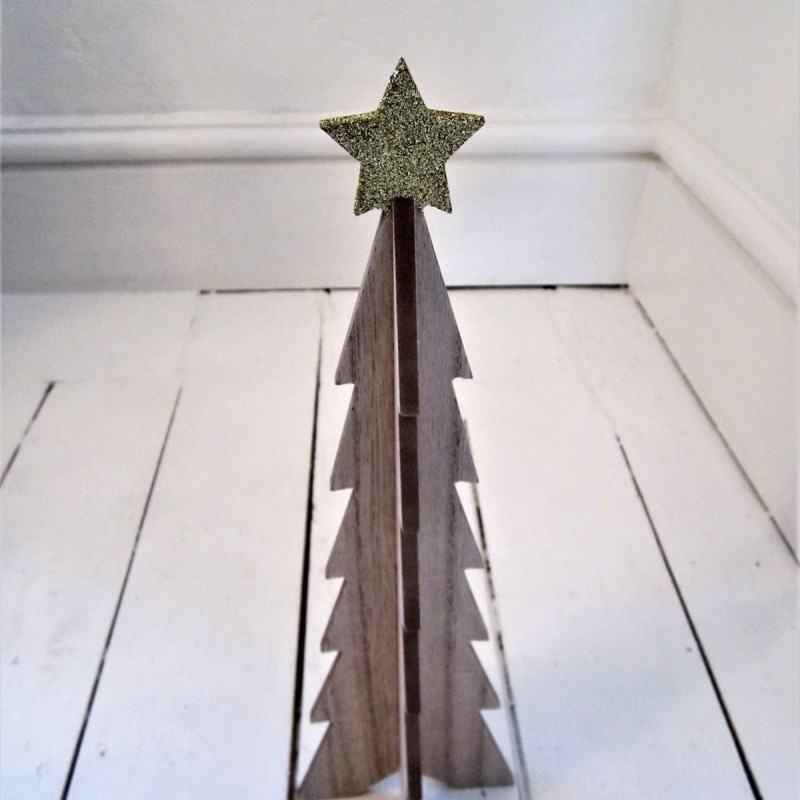 Glitter Star Tree