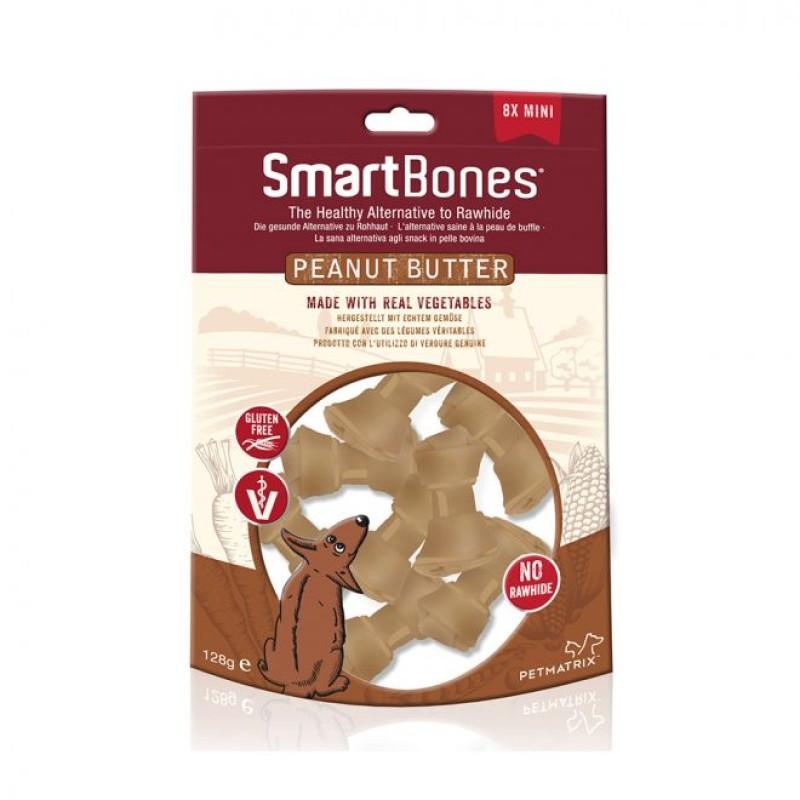 SmartBones Peanutbutter 8-p mini