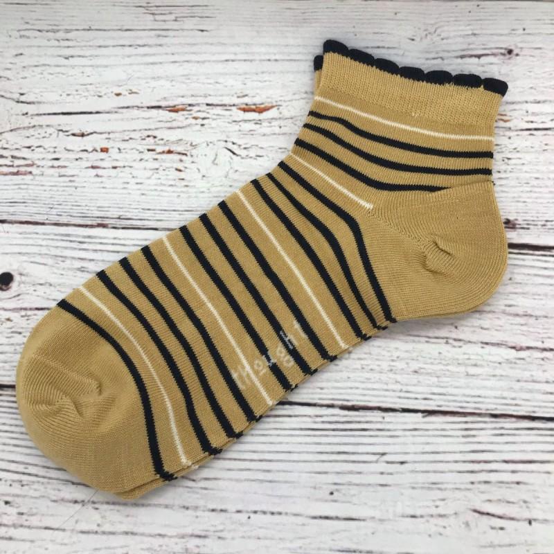 Short socks - bumblebee