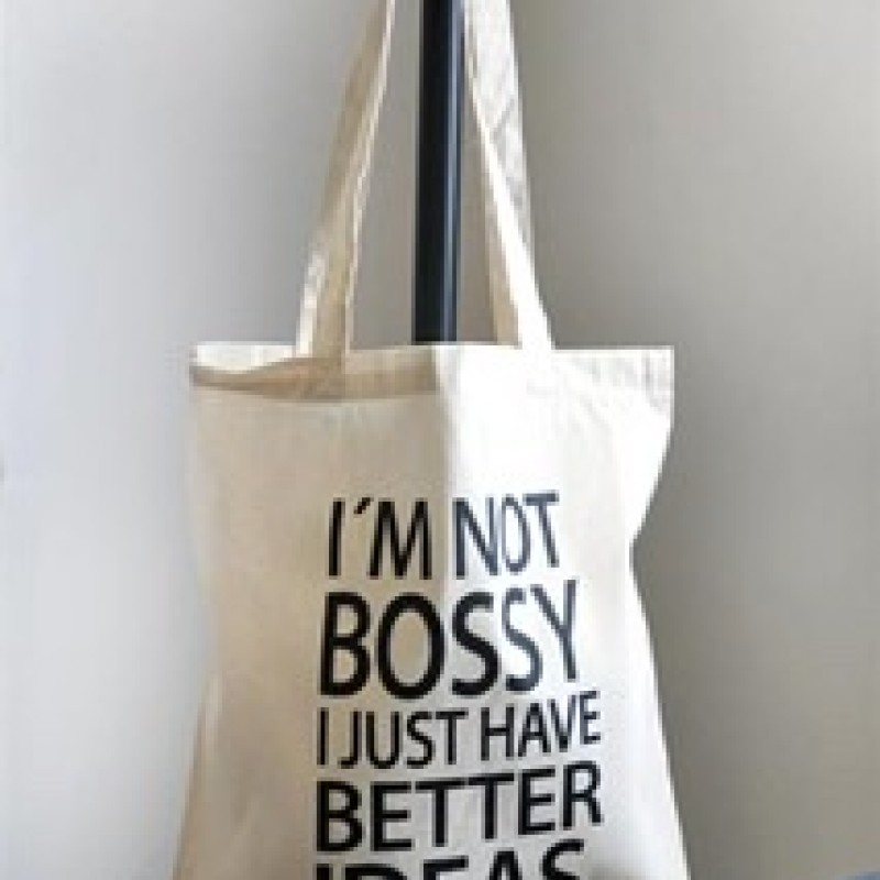 "Mellow Design - Tygkasse ""I'm not bossy"""