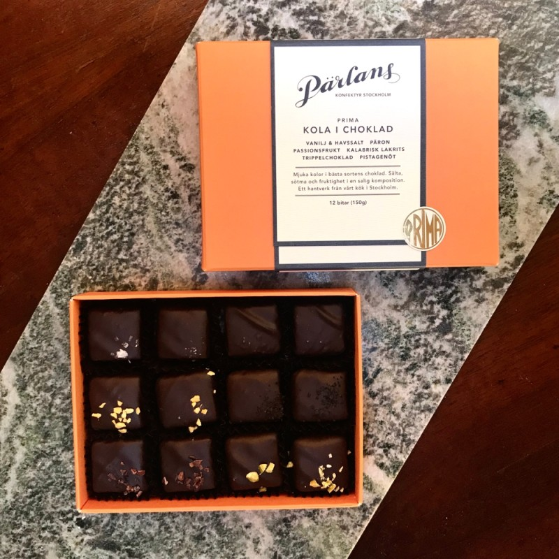 Pärlans Konfektyr - Kola i choklad 12 st