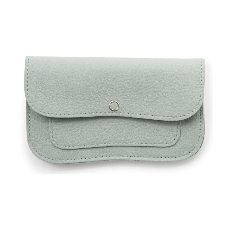 Keecie - Wallet Cat Chase Medium Dusty Green