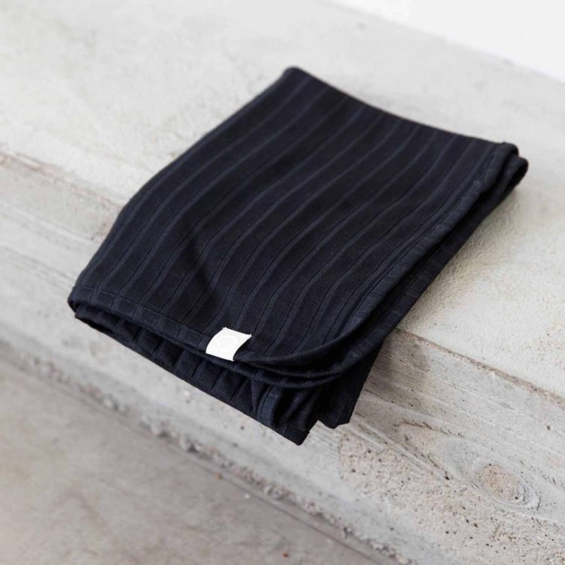 I Dig Denim - Bowie blanket organic black