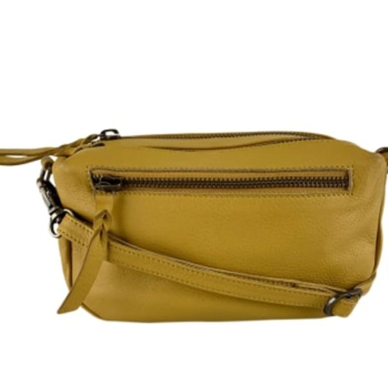 Black Colour - Soft box bag yellow