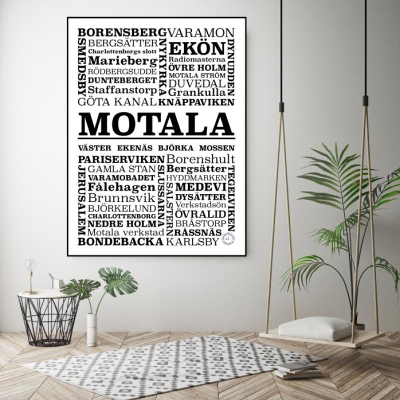 Annilito Design - Motala Poster