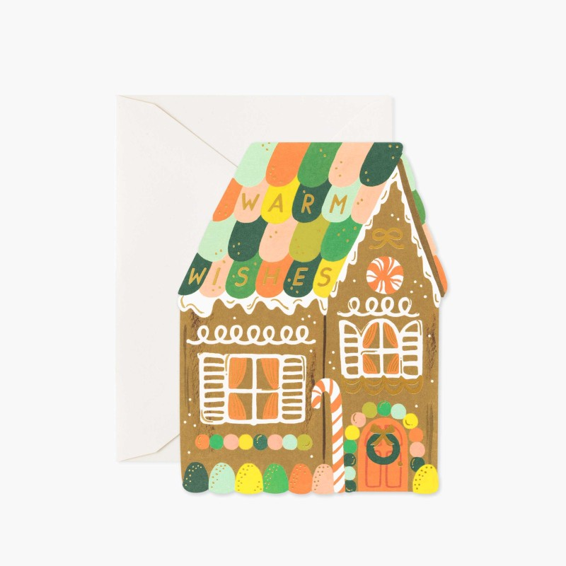 Rifle paper co - Gingerbread house REA 30%