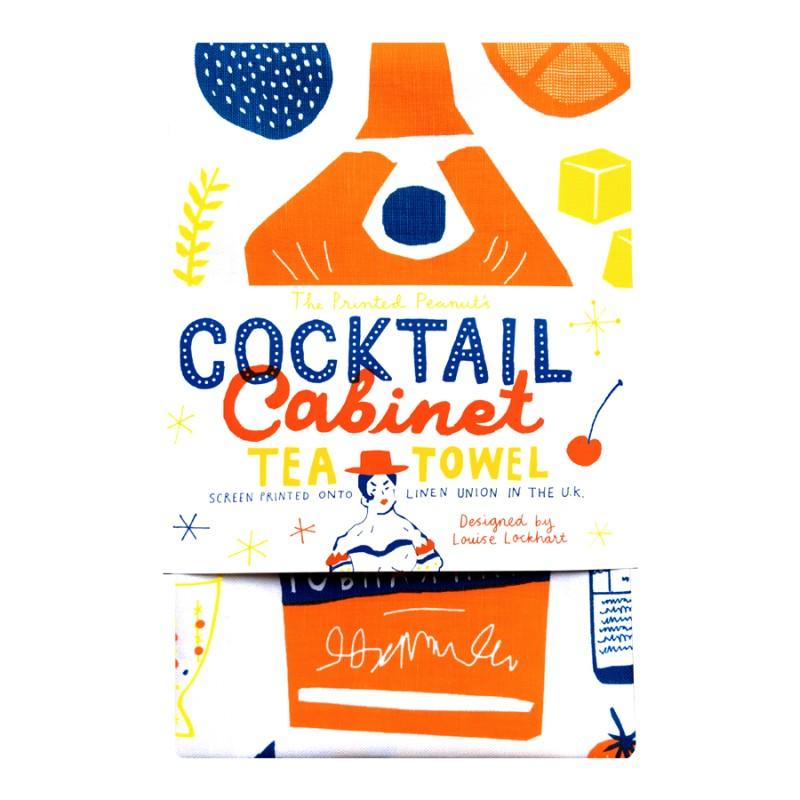 The Printed Peanut - Kökshandduk cocktail