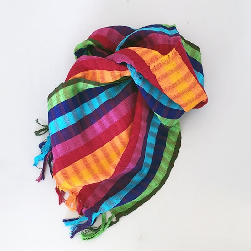 Fair Monkey - Färgglad sjal