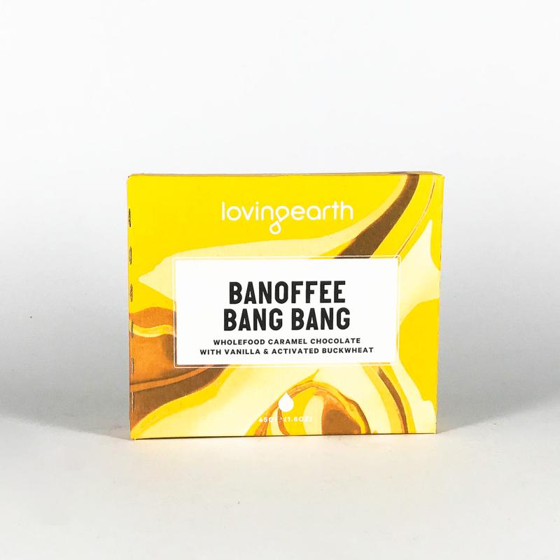 Loving Earth - Choklad Banoffee Bang Bang
