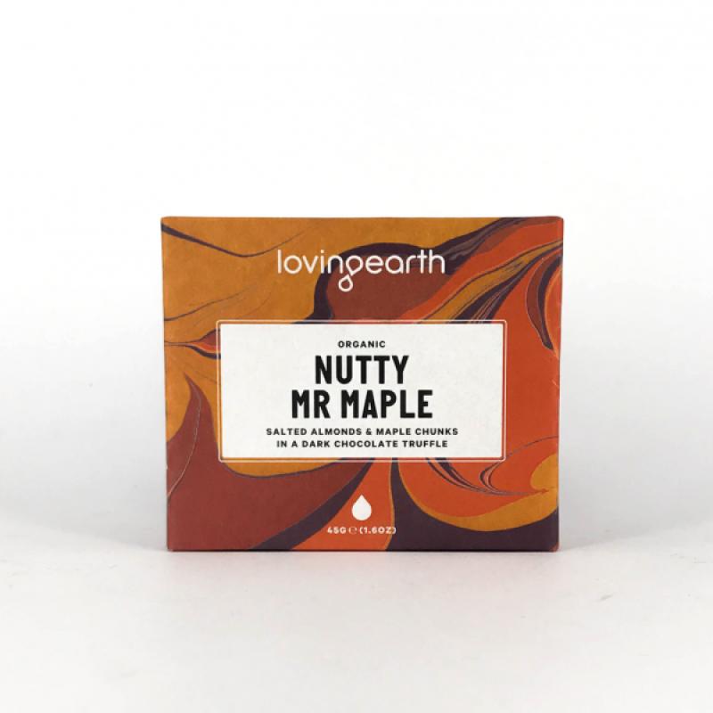 Loving Earth - Choklad Nutty Mr Maple