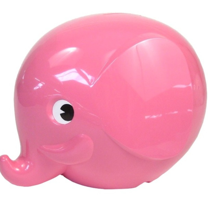 OMM Design - Sparbössa elefant liten - rosa