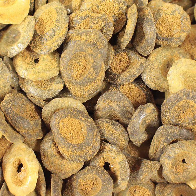Nammi - Salmiak/mangoknappar 100g