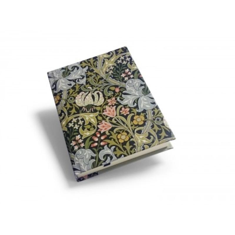 William Morris - Skrivbok Golden Lily A6