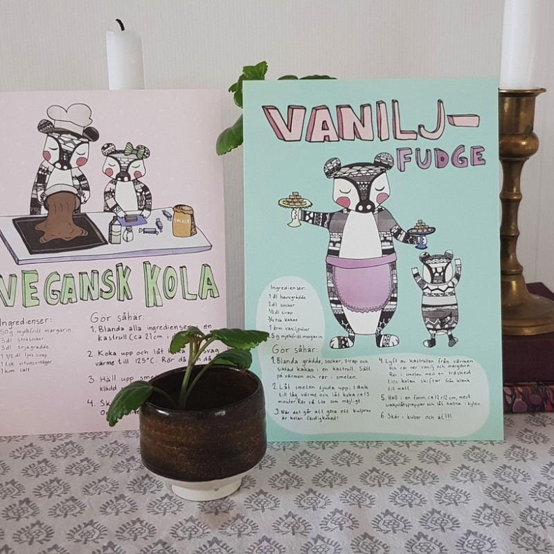 Maja Meurling - Recept kort