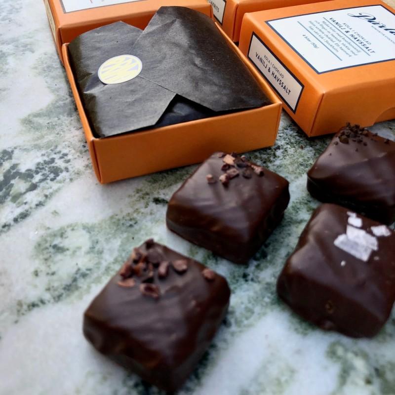 Pärlans Konfektyr - Kola i Choklad Trippelchoklad