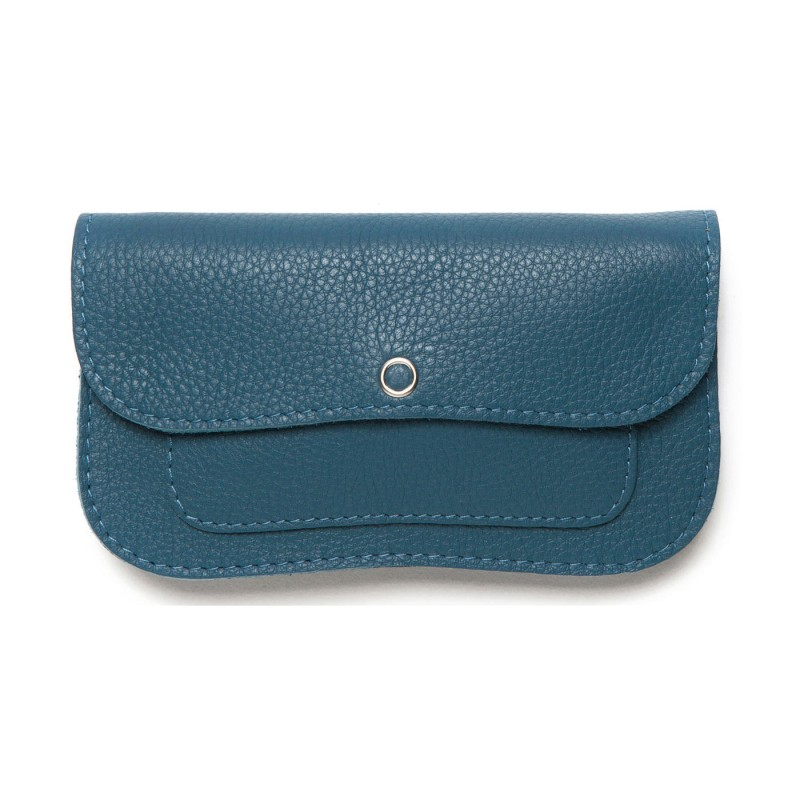 Keecie - Wallet Cat Chase Medium Faded Blue