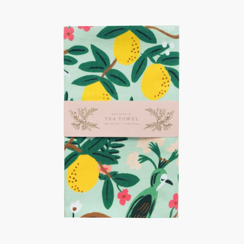 Rifle Paper Co - Shanghai Garden Tea Towel