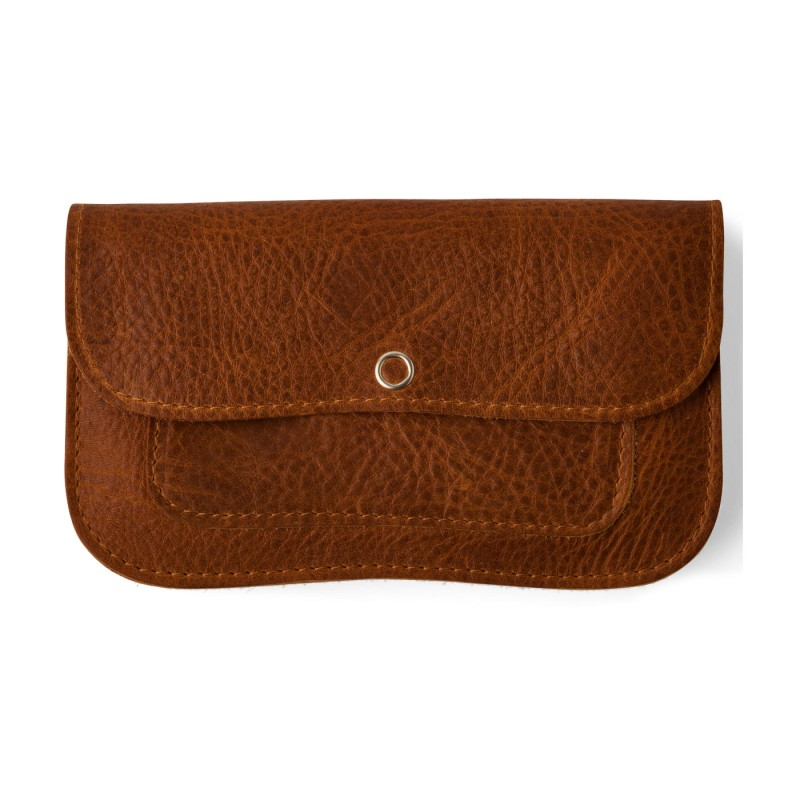 Keecie - Wallet Cat Chase Medium Cognac