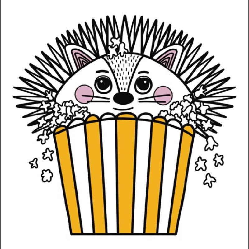 Little Blue Stories - Hedgehog