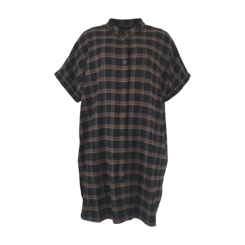 Black Colour - ISAH Oversize shirt