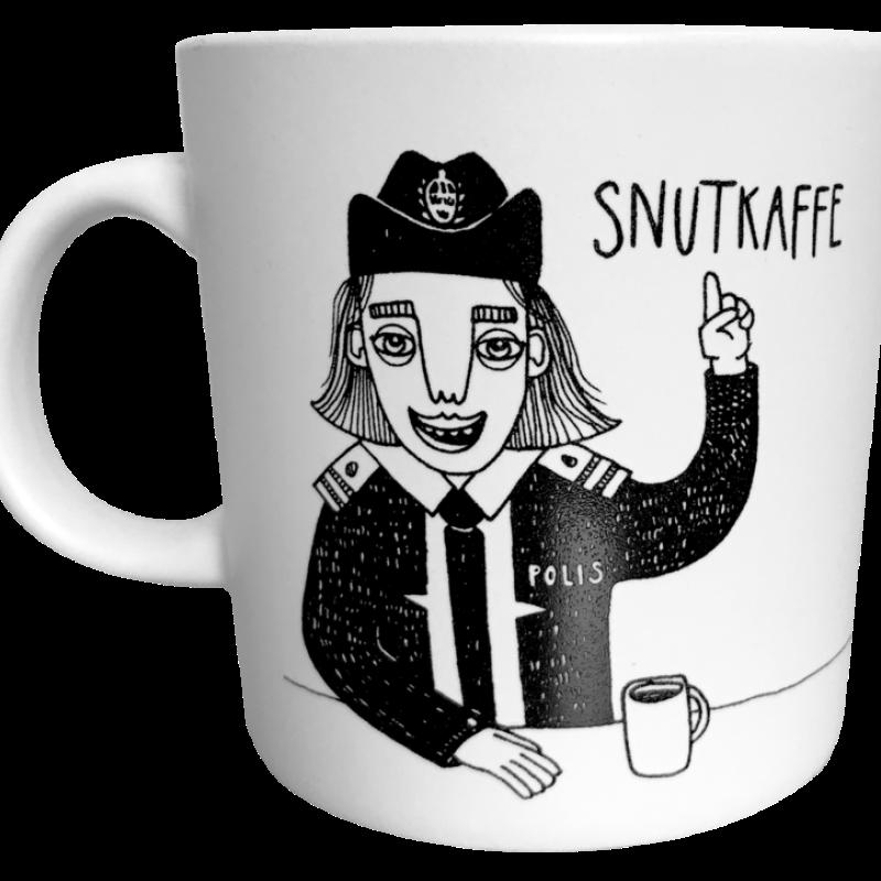 Bahkadisch - Mugg - Snutkaffe tjej