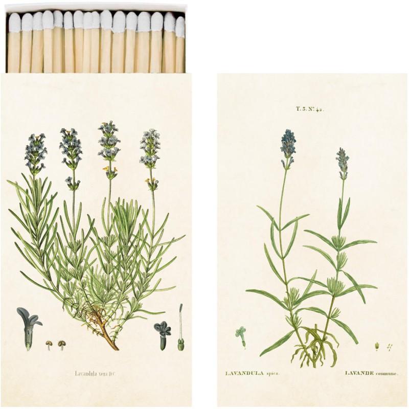 Sköna Ting - Tändsticksask Lavendel